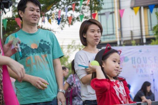 งาน House Warming Party ที่โครงการ Flora Wongsawang